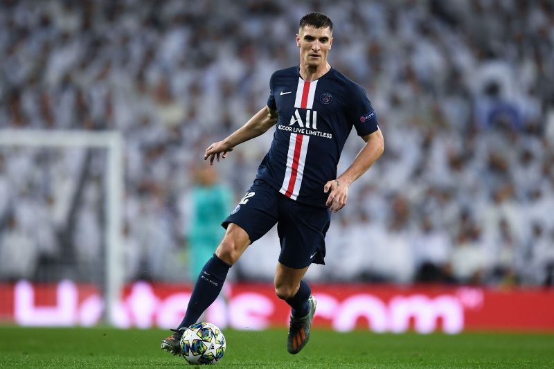 Thomas Meunier is set to run down his contract with PSG
