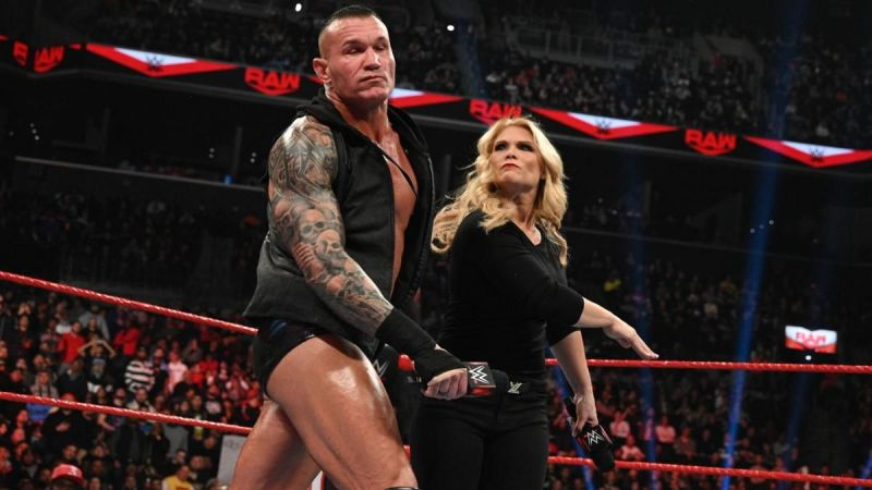 Beth Phoenix struck first on RAW but was left laying by Randy Orton