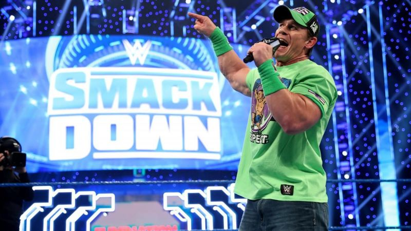 John Cena is set to appear on SmackDown