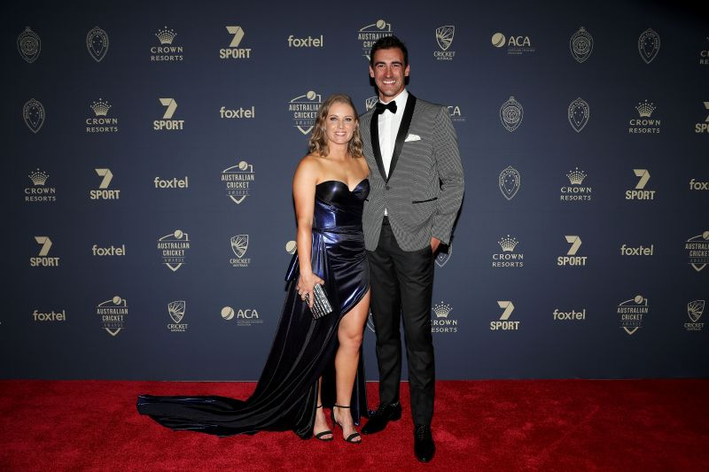 Mitchell Starc is married to Alyssa Healy