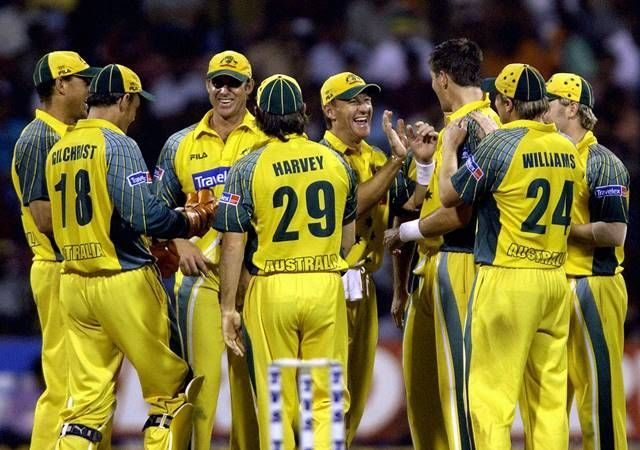 Australian ODI team of mid 2000s