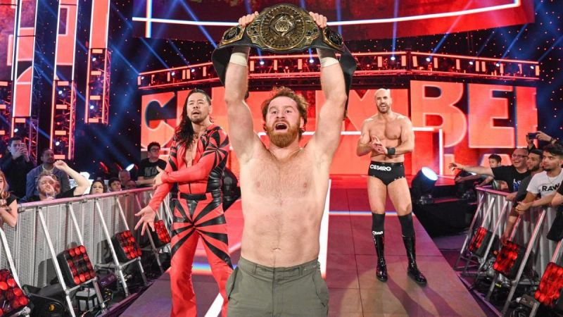 Sami Zayn won the Intercontinental Championship