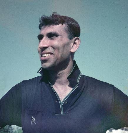 PK Banerjee in his playing days.