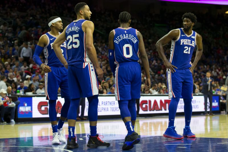 The Philadelphia 76ers have a mini injury crisis.