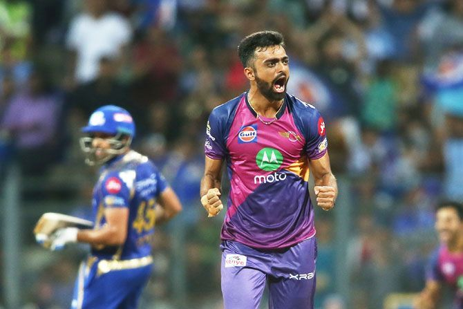 Unadkat was the second-highest wicket-taker in IPL 2017, with 24 wickets to his name