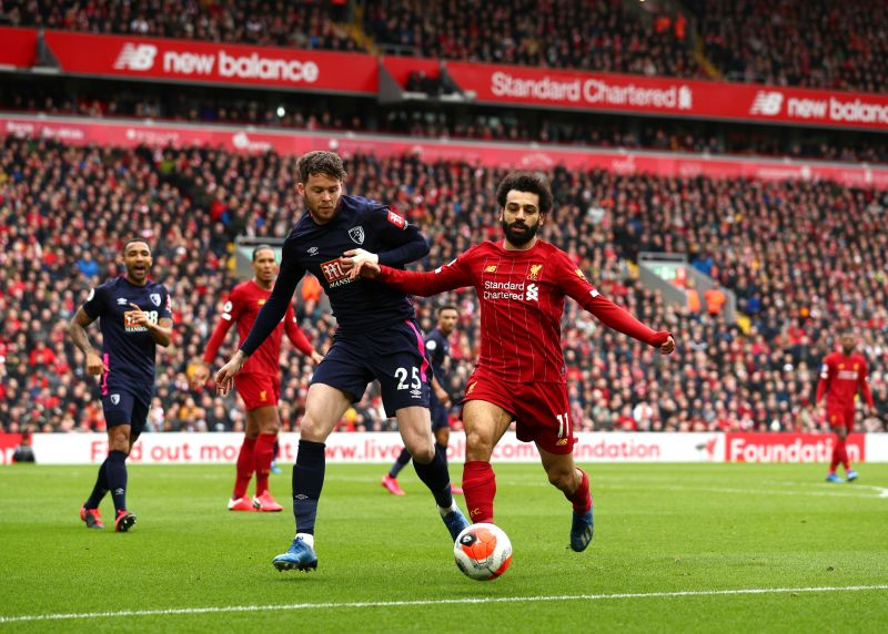 Salah recently made his 100th Premier League appearance for Liverpool in a 2-1 win over Bournemouth.
