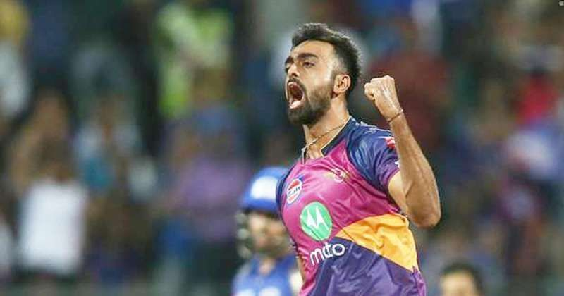 Jaydev Unadkat made life difficult for the batsmen while playing for Rising Pune Supergiant