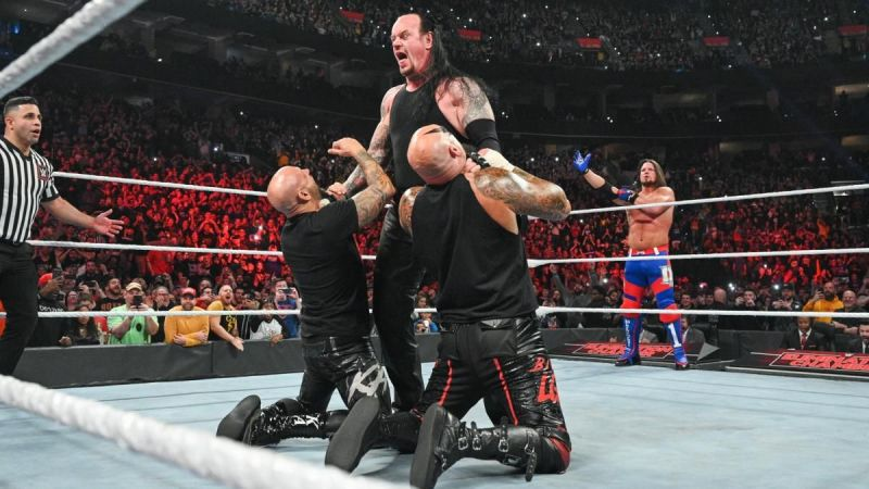 The Undertaker attacked Styles and The OC