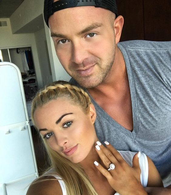 Mandy Rose and Mike Lubic.