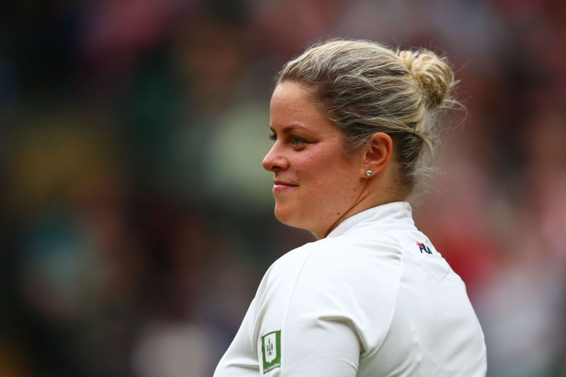 Clijsters showed signs of her best tennis in her opening match in Dubai.