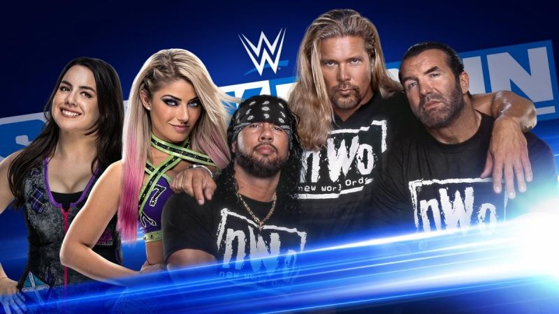 The New World Order will be on SmackDown this week.
