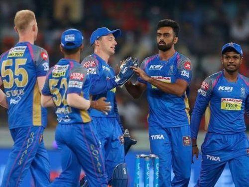 राजस्थान रॉयल्स टीम