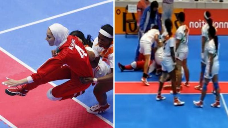 India and Iran faced off in the 2014 Asian Games final