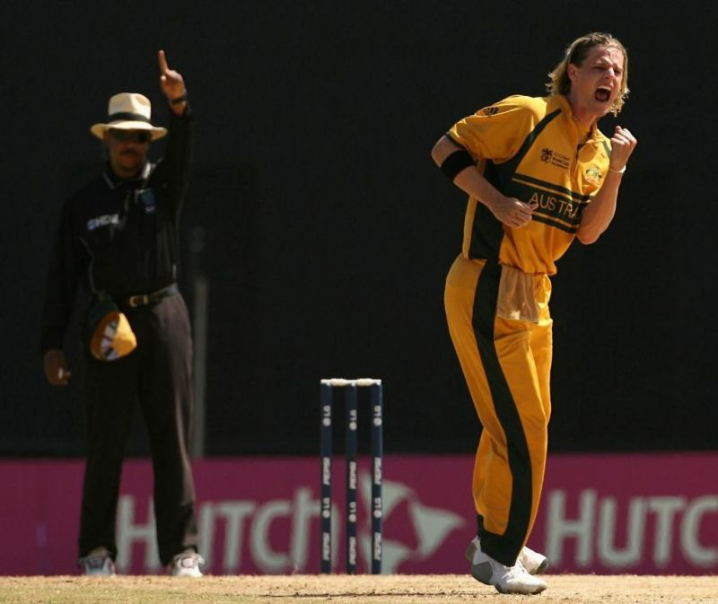 Nathan Bracken played a key role for Australia in ICC tournaments.