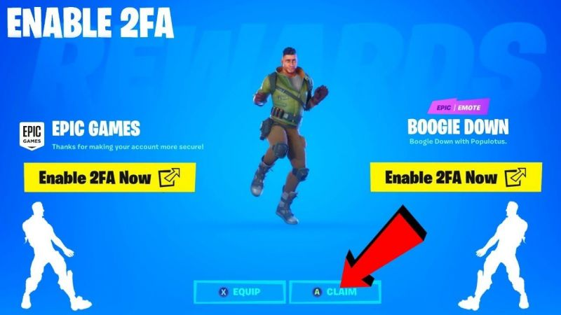 How to enable 2FA Authentication in Fortnite & Unlock free ...
