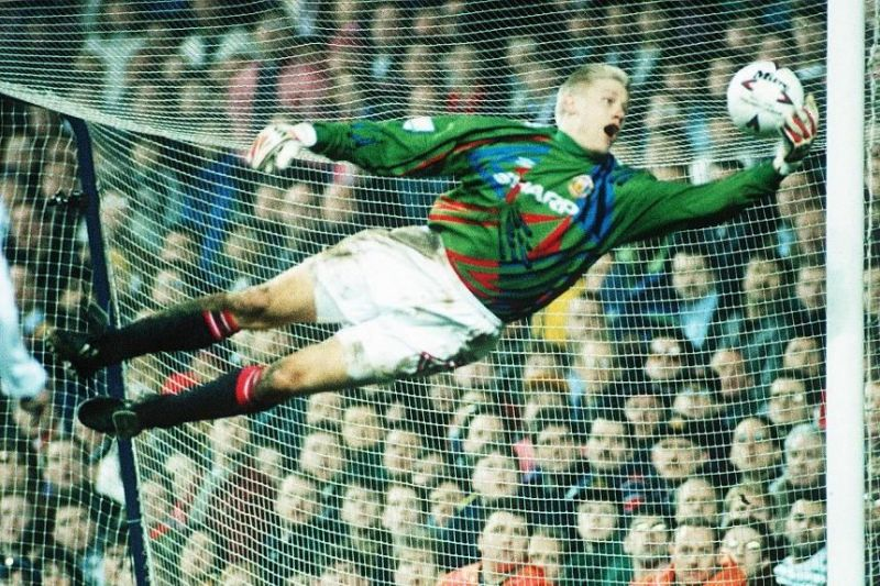 Peter Schmeichel was capable of making spectacular saves