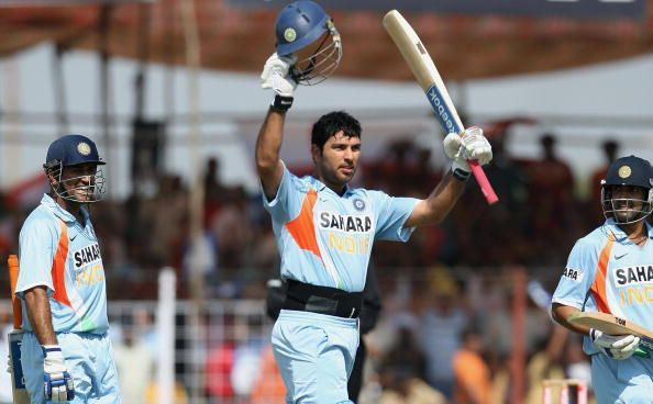 युवराज सिंह ने अपने करियर में लगाए 17 शतक