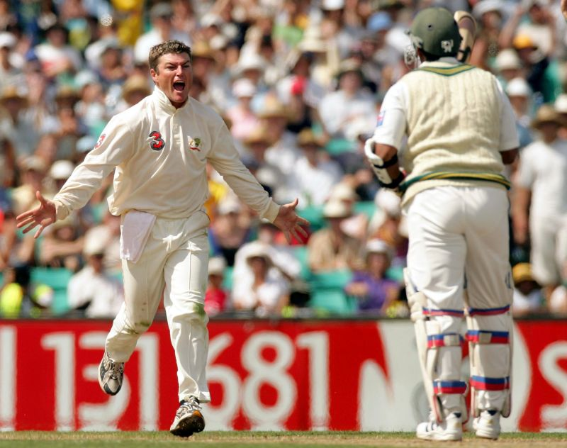 Stuart MacGill fitted in for Shane Warne ably.