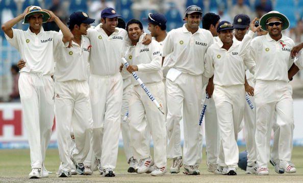 भारतीय टीम तीसरा और आखिरी टेस्ट जीतने के बाद