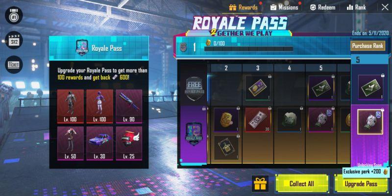 Elite Royale Pass