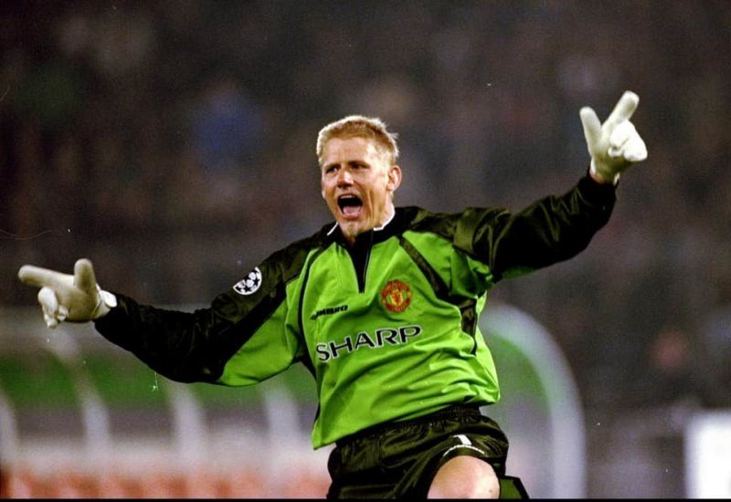 Peter Schmeichel became a legend in his 8 seasons with Manchester United