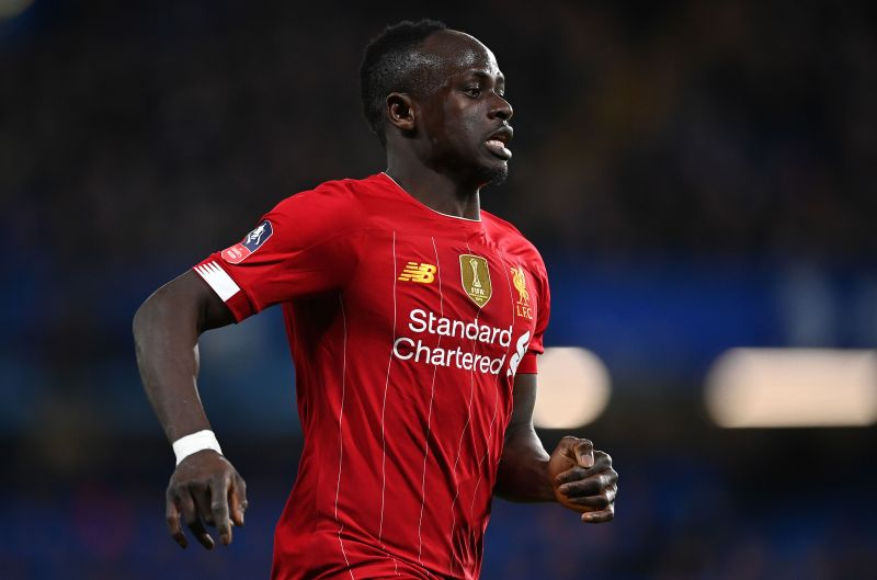 Mane in FA Cup action against Chelsea at Stamford Bridge