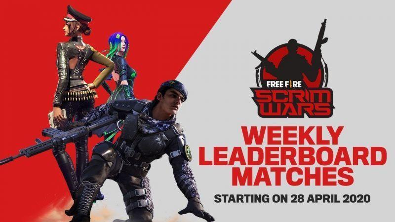 Free Fire Scrim Wars Season 1