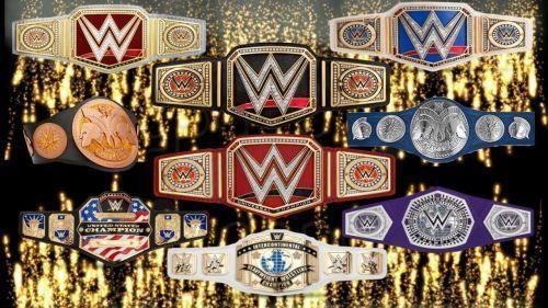 WWE टाइटल्स