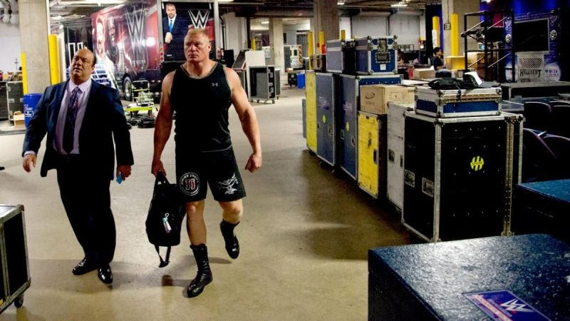 Speculation has been mounting that Brock Lensar could be gone from WWE for a while