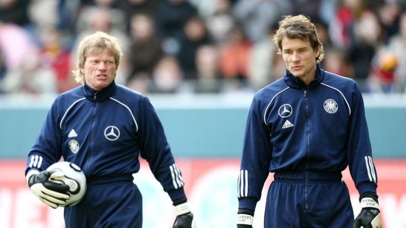 Oliver Kahn and Jens Lehmann