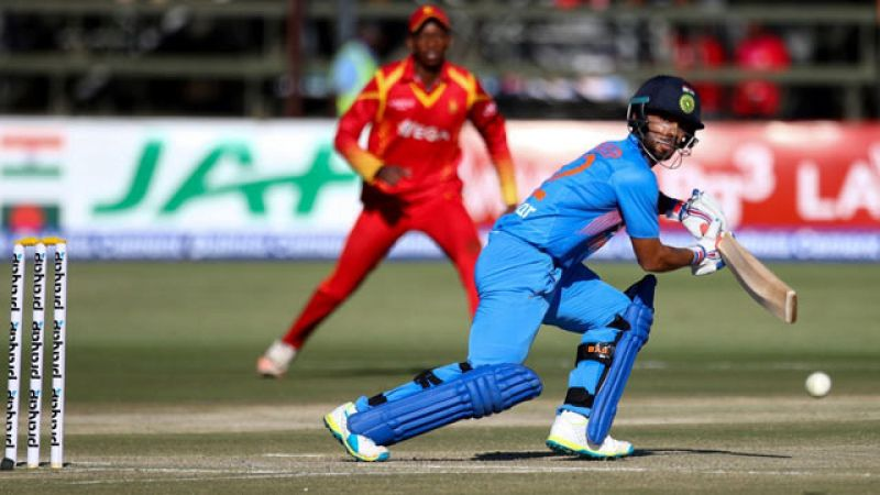 Mandeep Singh finished as the top run-getter for India during his debut T20I series