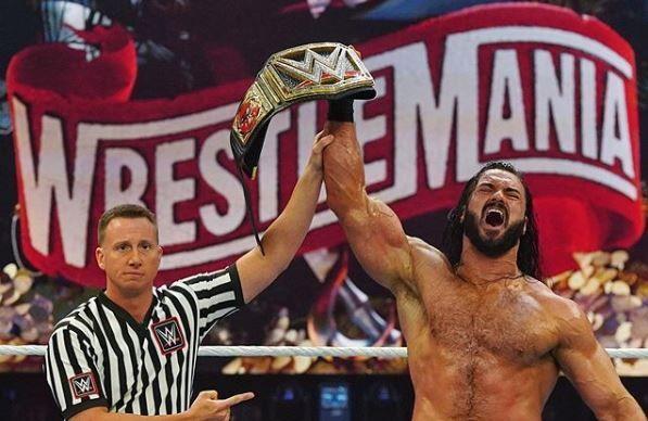 ड्रू मैकइंटायर ने ब्रॉक लैसनर को हराया
