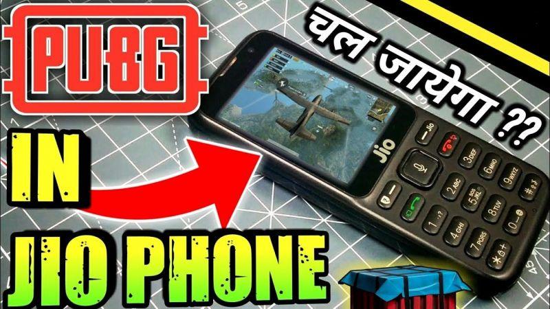 PUBG Mobile in Jio Phone
