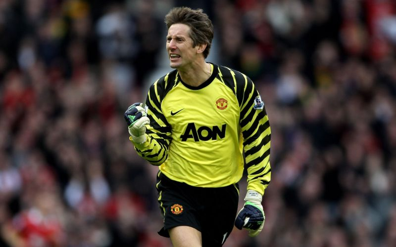 Edwin Van Der Sar won the Champions League with Manchester United