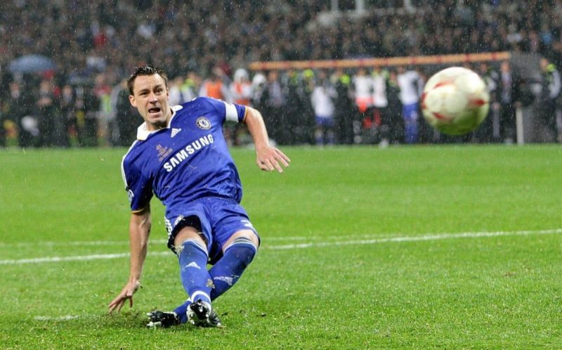 Terry could have won Chelsea the title, but he slipped.
