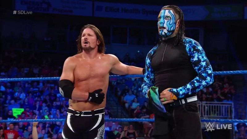 AJ Styles vs Jeff Hardy is a dream feud