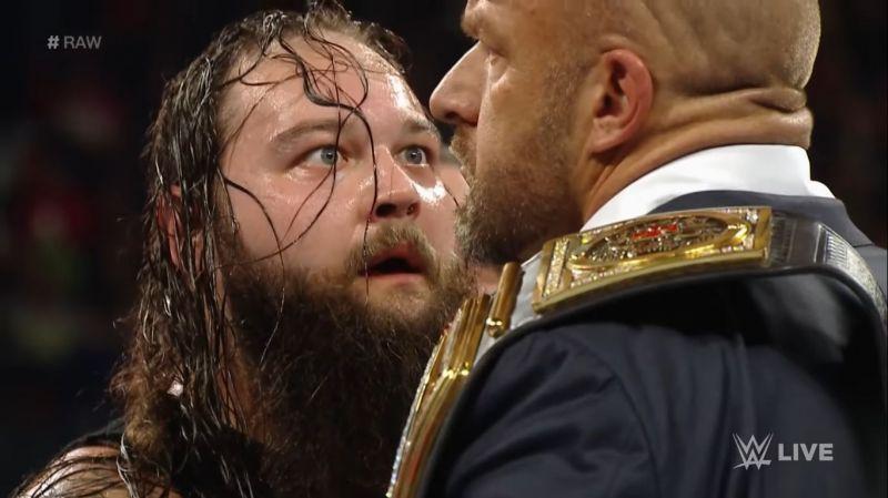 Bray Wyatt and Triple H