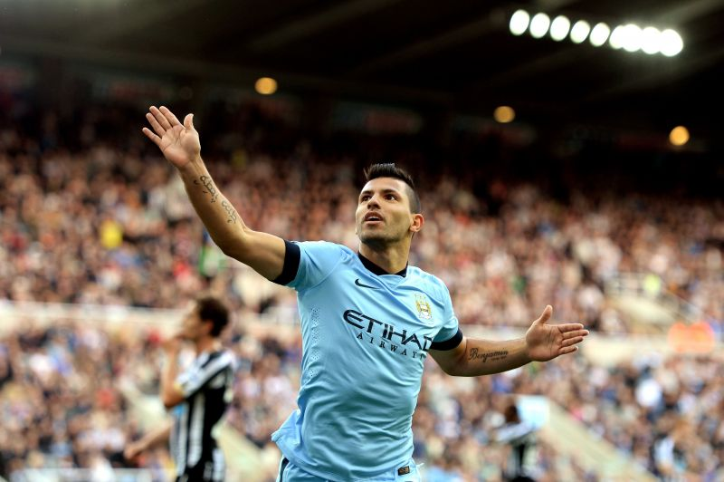 Aguero was unstoppable during his fifer against Newcastle United