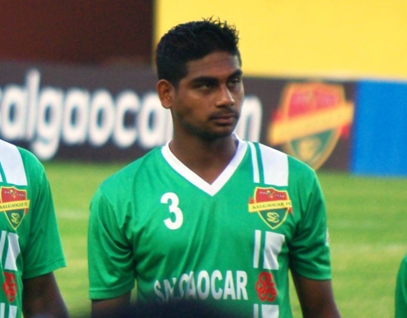 Augustin Fernandes during his time at Salgaocar