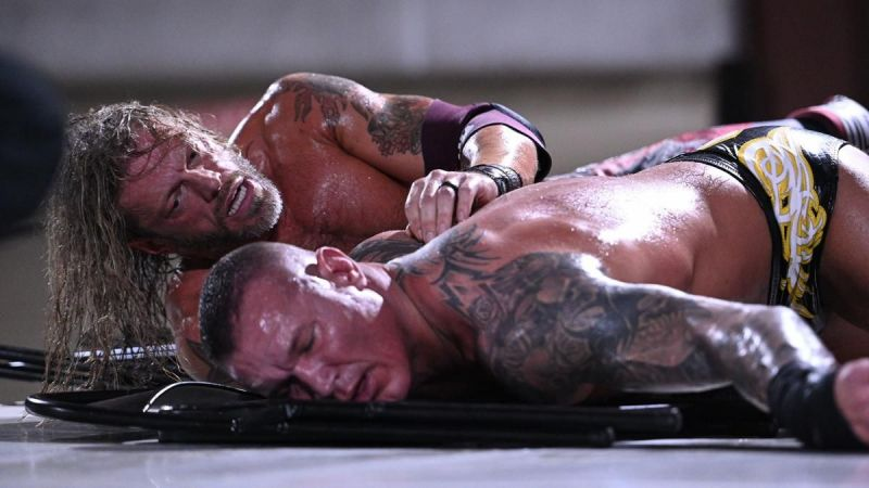 Edge finally silenced Orton in a grueling Last Man Standing Match