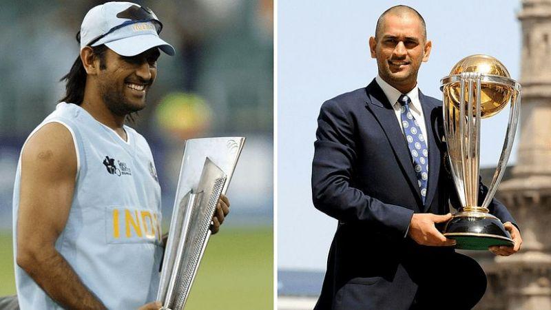 एमएम धोनी 2007 टी20 विश्व कप और 2011 विश्व कप जीतने वाली भारतीय टीम के कप्तान थे