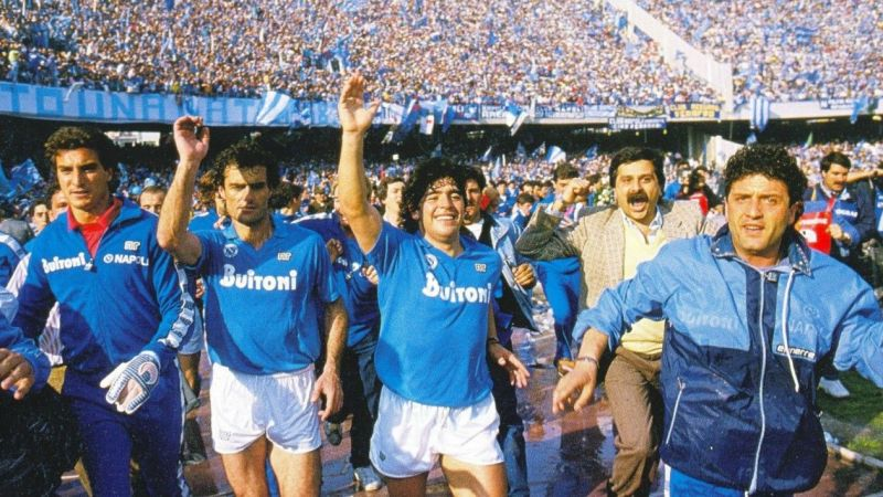 The first Italian league for Napoli was won in 1987
