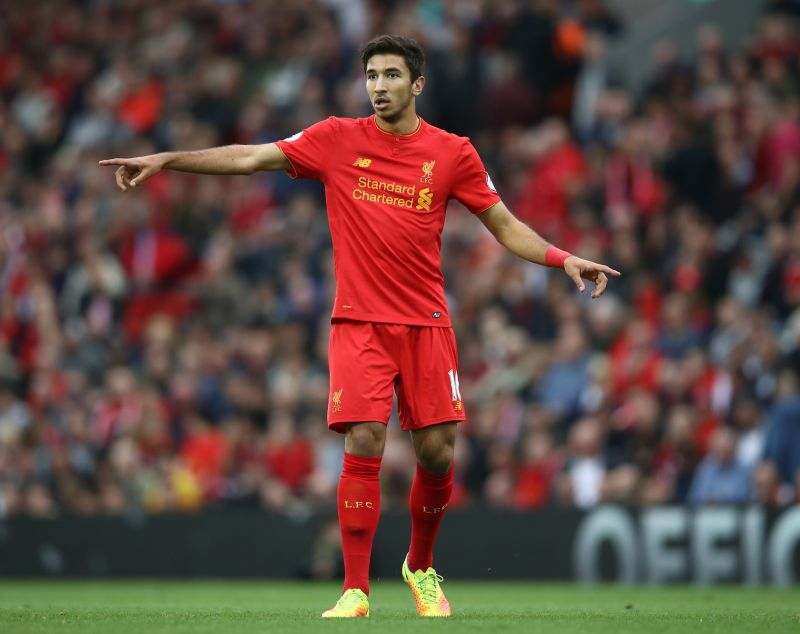 Marko Grujic was Jurgen Klopp's first signing at Liverpool