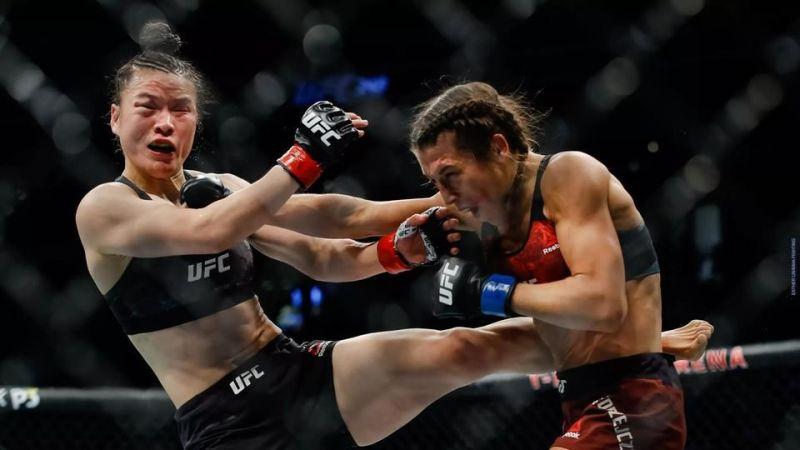 Jedrzejczyk vs Zhang from UFC 248