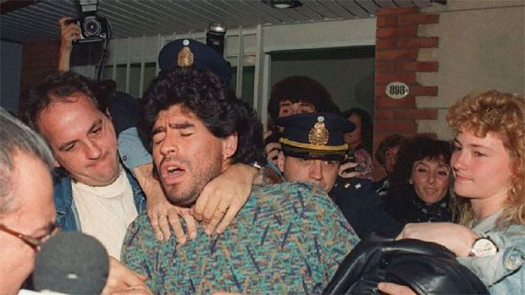 In 1991 he was arrested in Argentina having flown out of Italy