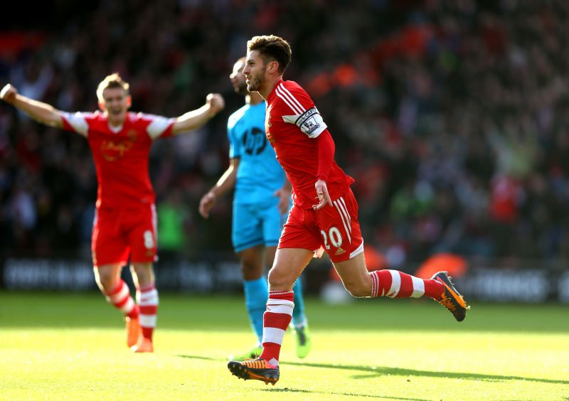 Lallana spent most his career with Southampton