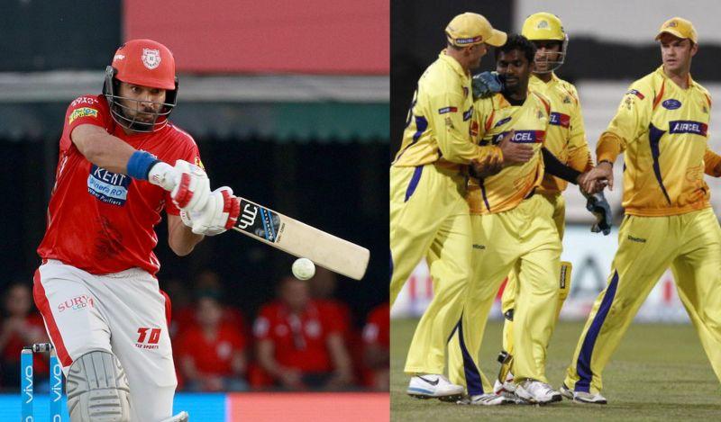 किंग्स XI पंजाब ने चेन्नई सुपर किंग्स को हराकर रचा था इतिहास