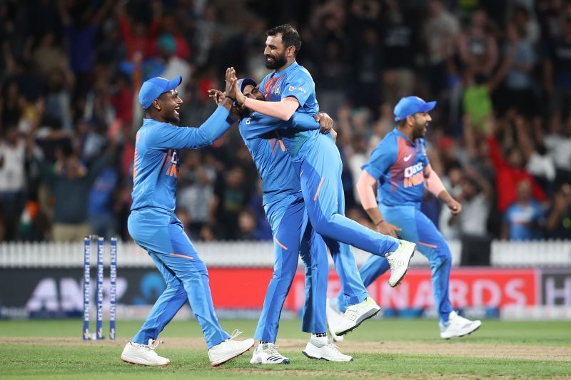 Mohammed Shami and Rohit Sharma enjoy a healthy relationship on the field.