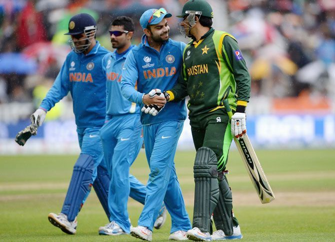 India and Pakistan last faced off in a bilateral series in 2008