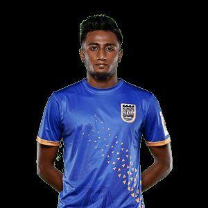 Vignesh signed for Mumbai City FC in 2018 (Image courtesy: ISL)